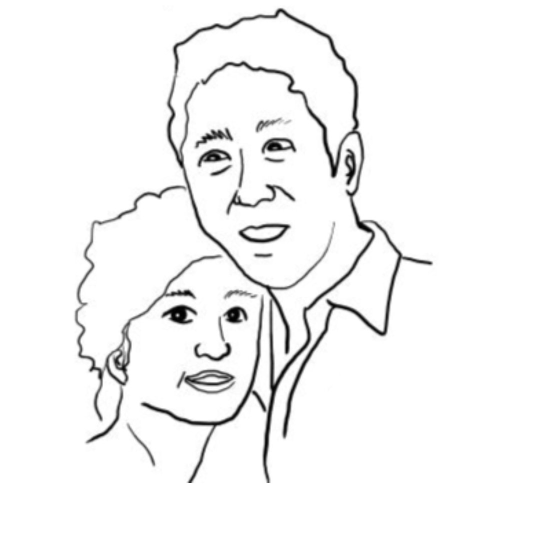 """Robotic"" love between Andrew Ng and Carol Reiley"